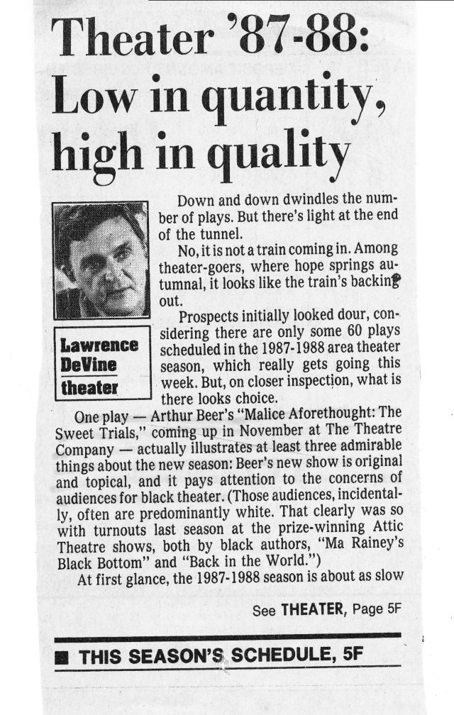 1987 review courtesy of Detroit Free Press